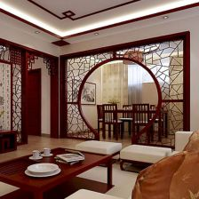 Astonishing partition design ideas for living room 04