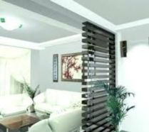 Astonishing partition design ideas for living room 17