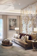 Astonishing partition design ideas for living room 28