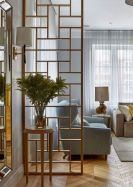 Astonishing partition design ideas for living room 30