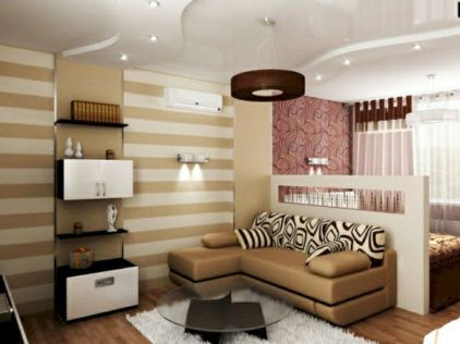 Astonishing partition design ideas for living room 33