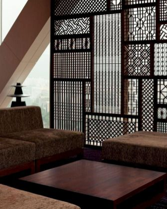 Astonishing partition design ideas for living room 37