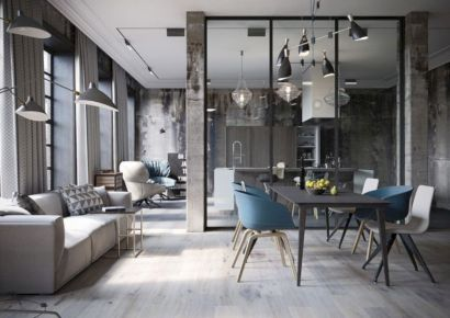 Astonishing partition design ideas for living room 39