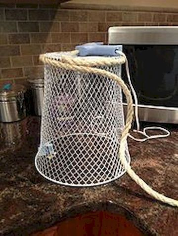 Best ideas to reuse old wire baskets 04