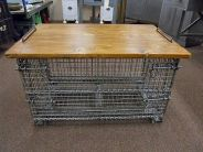 Best ideas to reuse old wire baskets 09