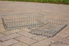Best ideas to reuse old wire baskets 12