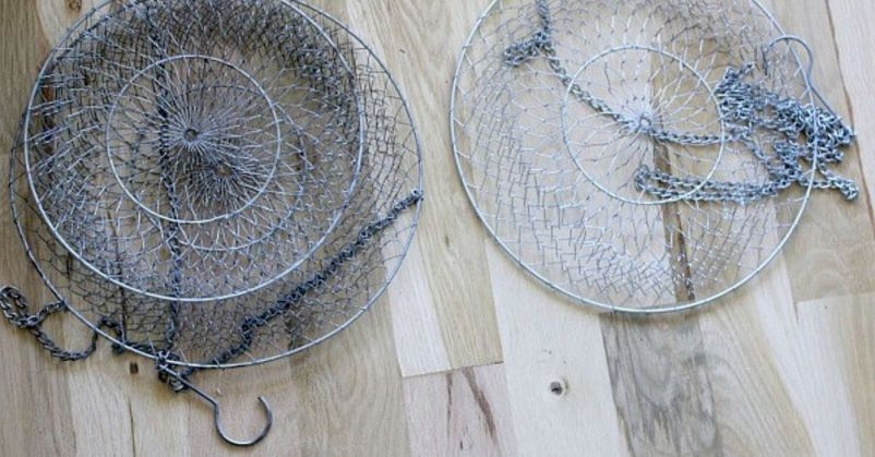 Best ideas to reuse old wire baskets 18