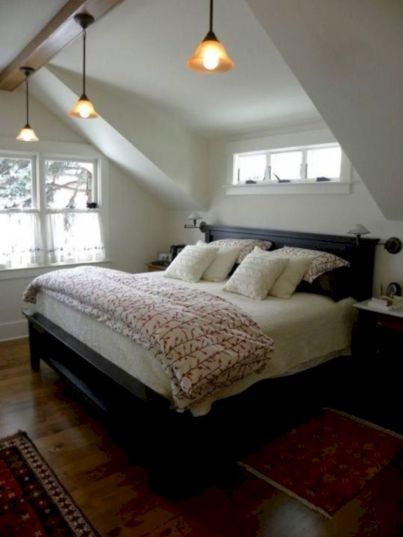 Charming bedroom design ideas in the attic 03