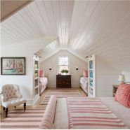 Charming bedroom design ideas in the attic 04