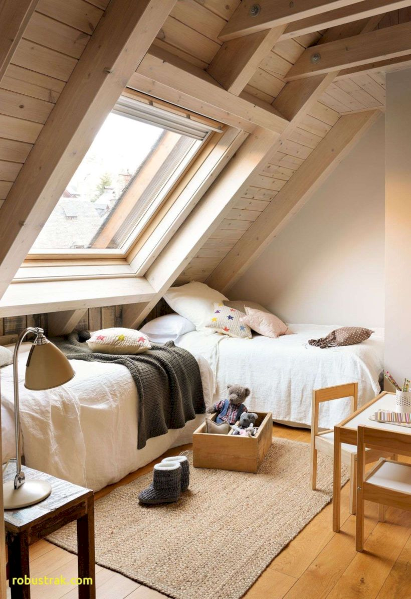 Charming bedroom design ideas in the attic 05