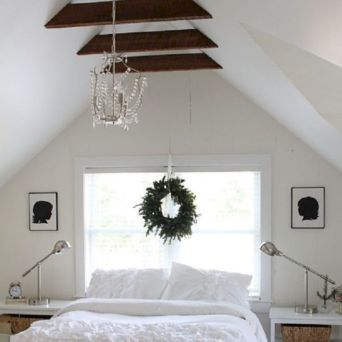 Charming bedroom design ideas in the attic 06