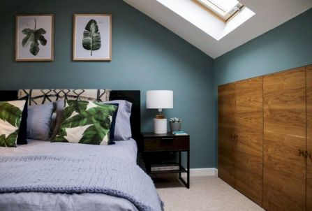 Charming bedroom design ideas in the attic 12