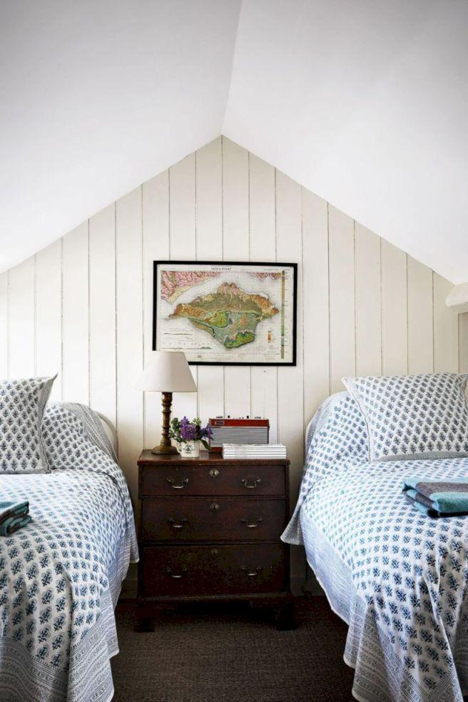 Charming bedroom design ideas in the attic 18