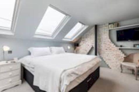 Charming bedroom design ideas in the attic 19