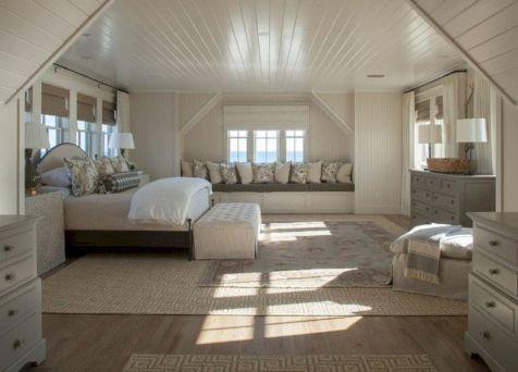 Charming bedroom design ideas in the attic 20