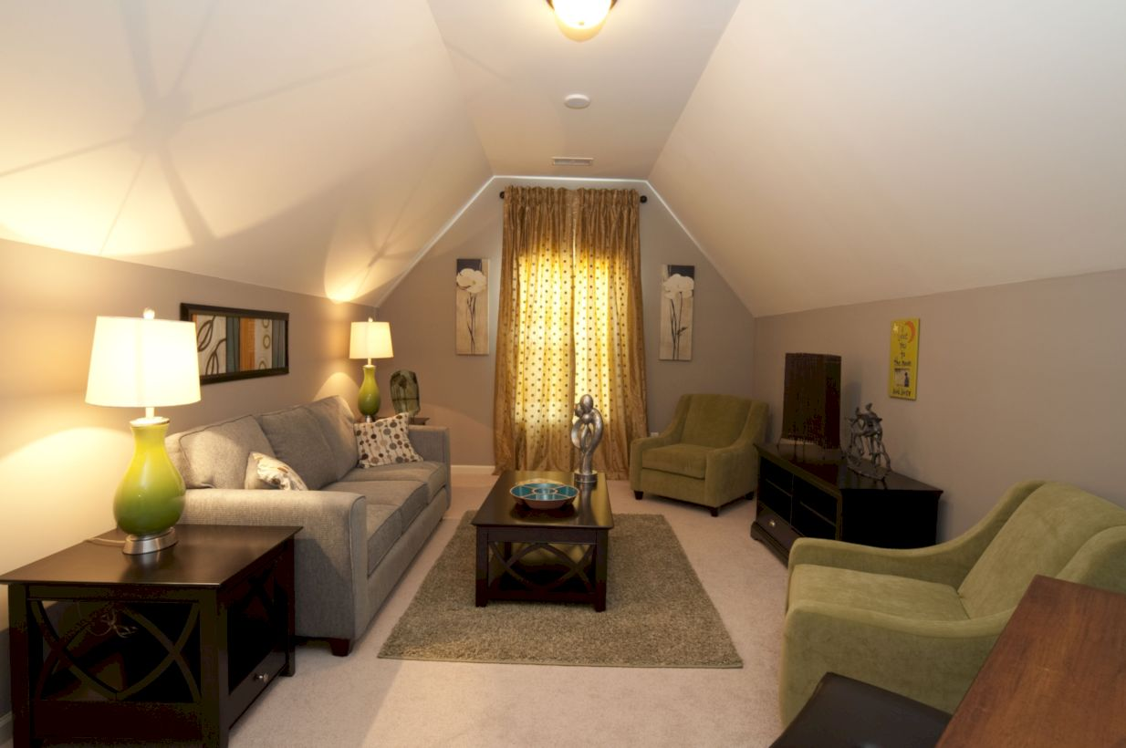 Charming bedroom design ideas in the attic 32