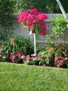 Charming flower beds ideas for shady yards 05