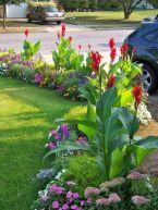 Charming flower beds ideas for shady yards 13