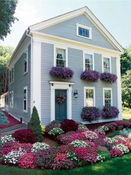 Charming flower beds ideas for shady yards 20