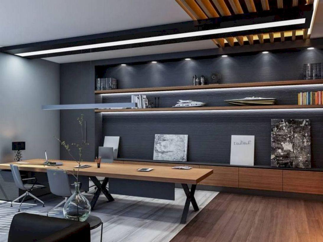 Classy home office designs ideas 09