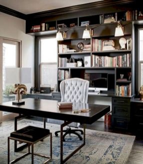 Classy home office designs ideas 10