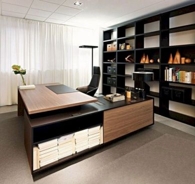 Classy home office designs ideas 11
