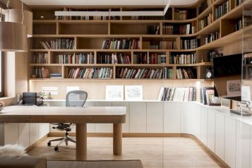 Classy home office designs ideas 13