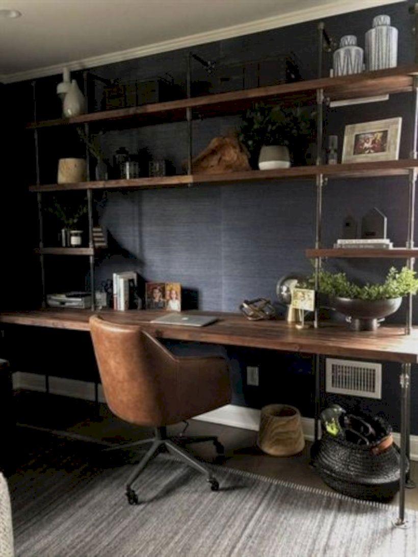 Classy home office designs ideas 17