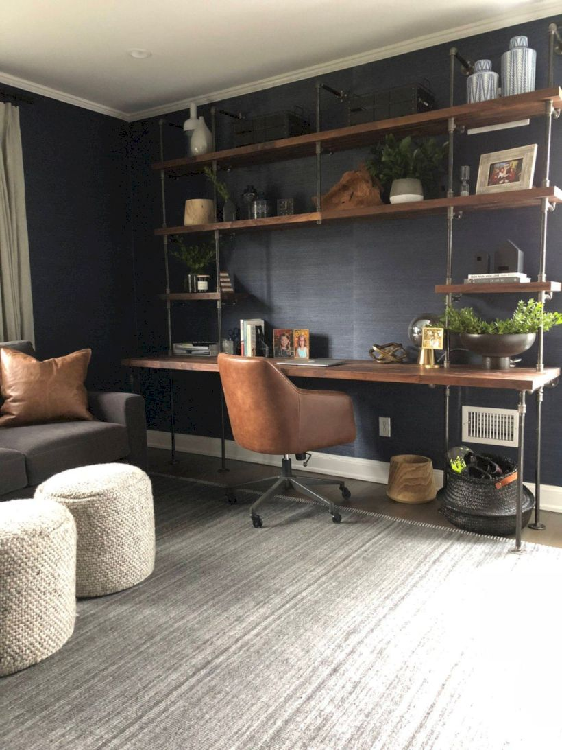 Classy home office designs ideas 18