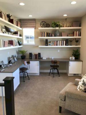Classy home office designs ideas 27