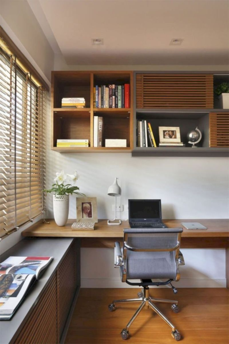 Classy home office designs ideas 31