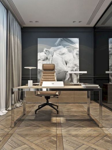 Classy home office designs ideas 51