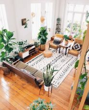 Cool living room designs ideas in boho style05