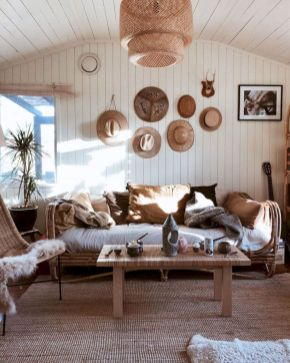 Cool living room designs ideas in boho style18