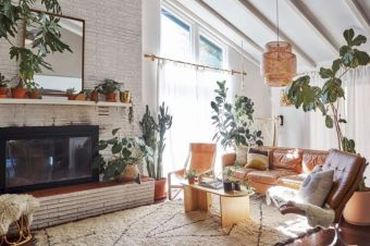 Cool living room designs ideas in boho style47