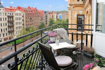 Delightful balcony designs ideas with killer views 11