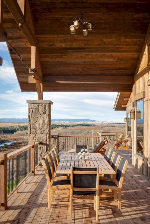 Delightful balcony designs ideas with killer views 40