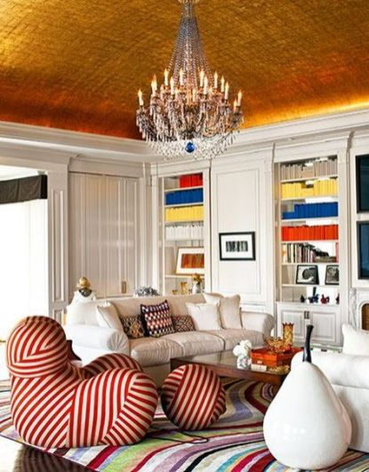 Fabulous statement ceiling ideas for home 04