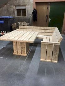 Graceful pallet furniture ideas 07