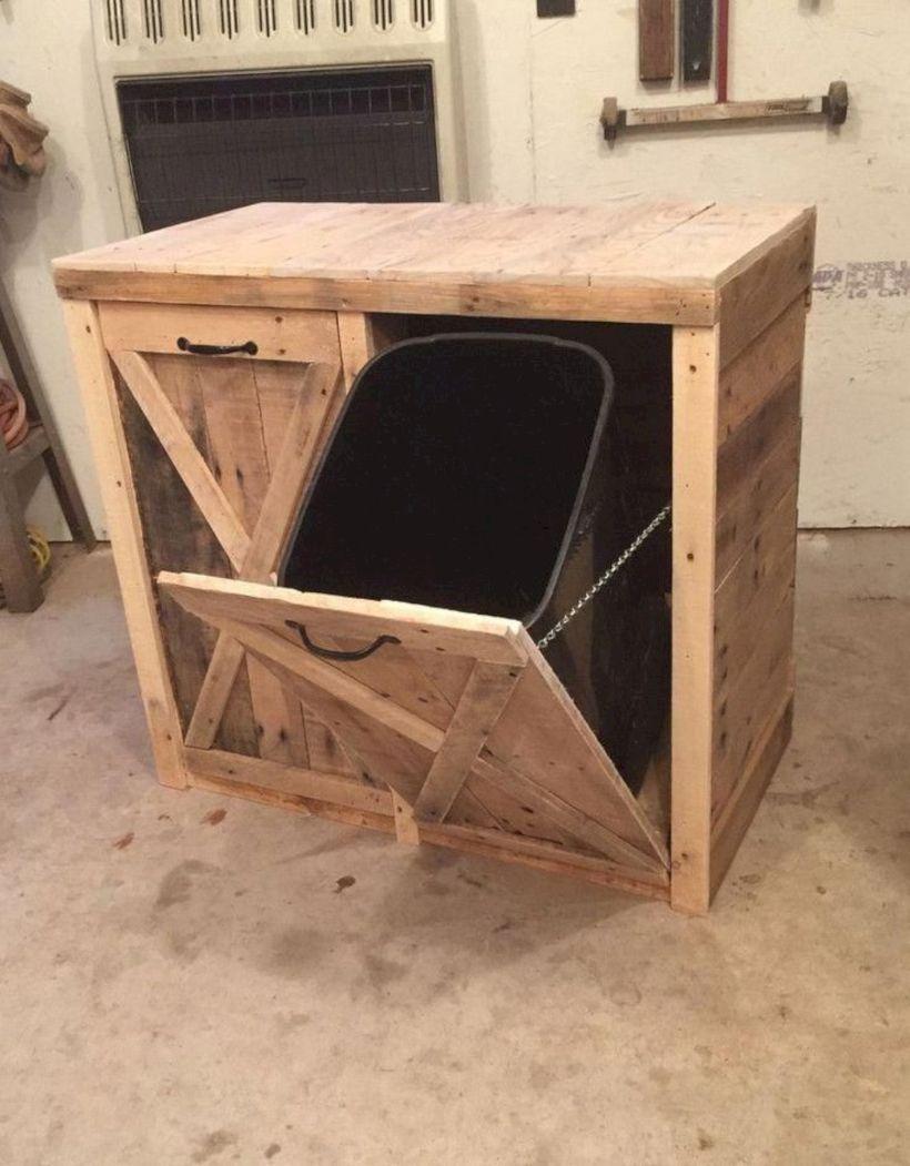 Graceful pallet furniture ideas 13