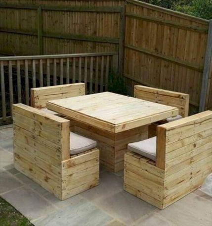 Graceful pallet furniture ideas 14