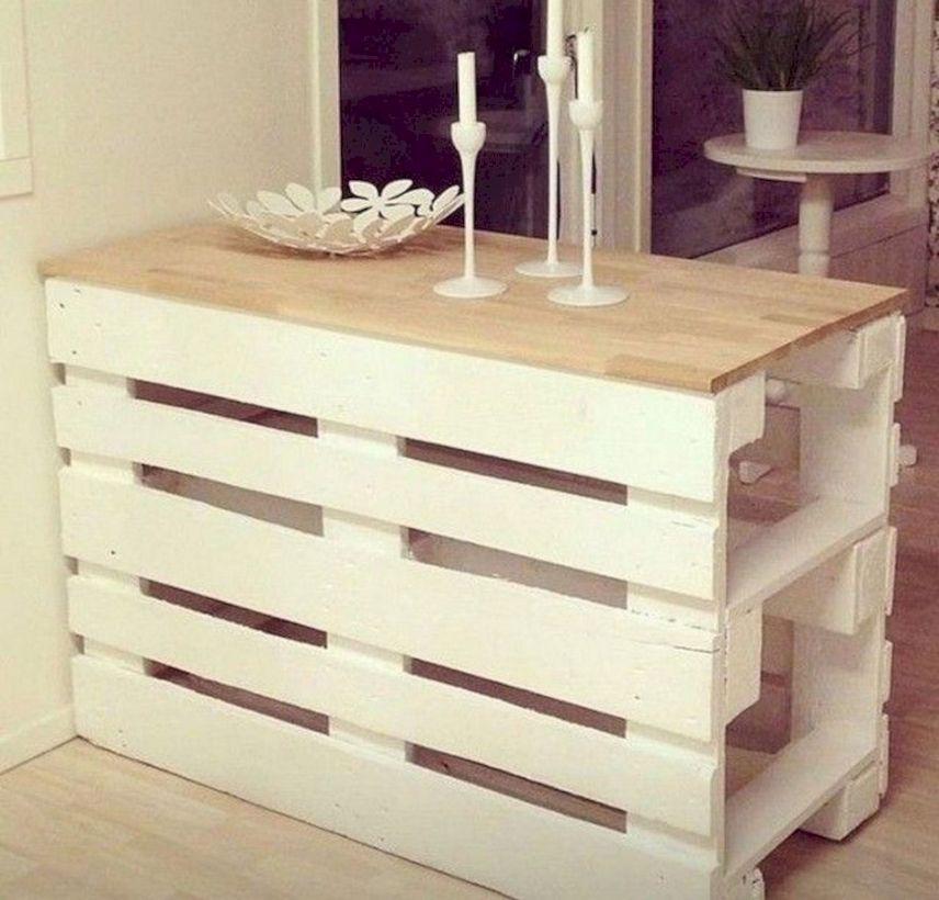 Graceful pallet furniture ideas 21