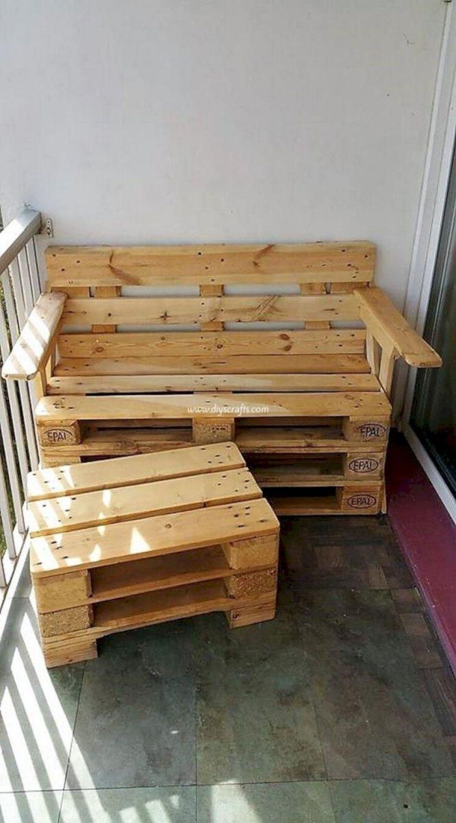 Graceful pallet furniture ideas 24