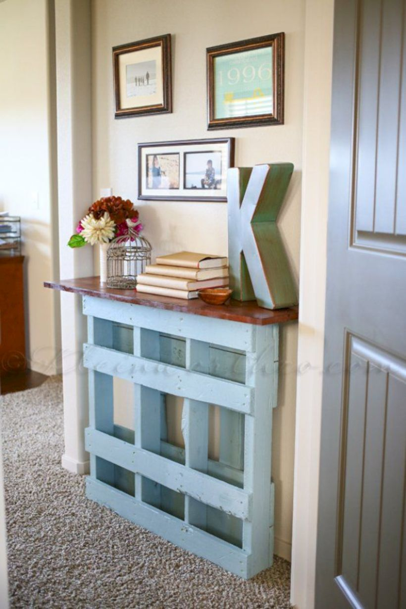 Graceful pallet furniture ideas 33