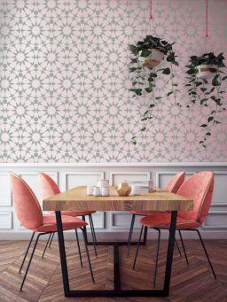 Lovely dining room tiles design ideas 24