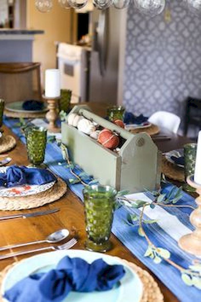 Modern diy thanksgiving decorations ideas for home 01
