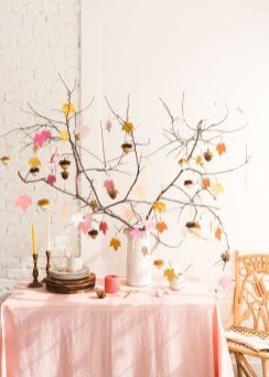 Modern diy thanksgiving decorations ideas for home 07