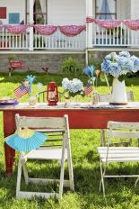Newest 4th of july table decorations ideas 01