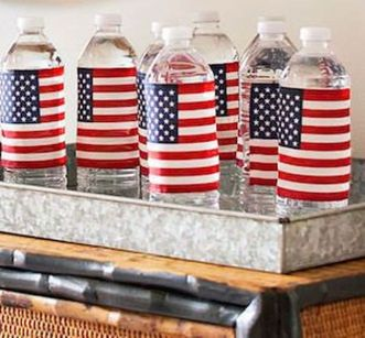 Newest 4th of july table decorations ideas 13