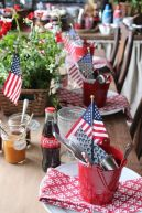 Newest 4th of july table decorations ideas 27